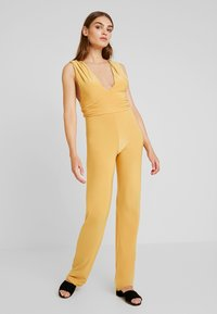 Club L London - Jumpsuit - yellow - 1