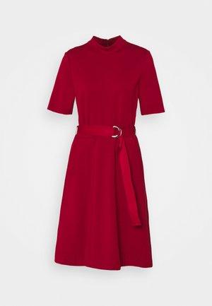 DARFIA - Jerseykjoler - dark red