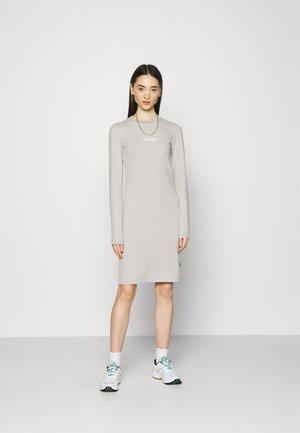 CARDI DRESS - Jersey dress - graphite change