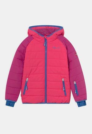 HAFJELL SNOW JACKET PRO UNISEX - Lyžařská bunda - dark pink/light pink/blue