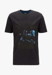 BOSS - TERISK - T-shirt imprimé - black - 4