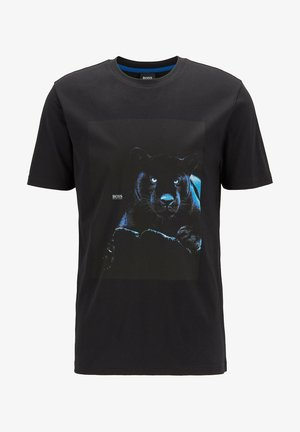 TERISK - Print T-shirt - black