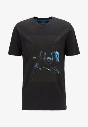 TERISK - T-shirt imprimé - black
