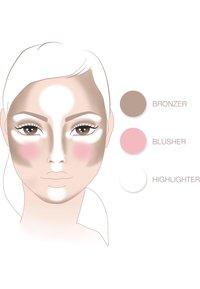 IsaDora - FACE SCULPTOR - Face palette - cool pink - 2