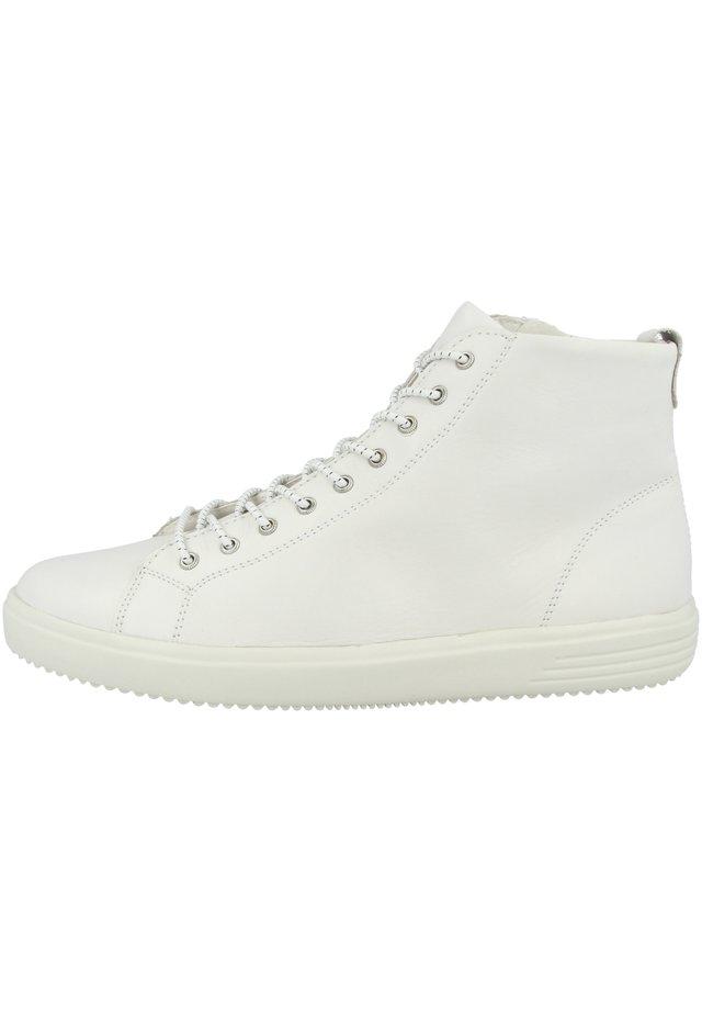Sneakers hoog - bianco (d1470-80)