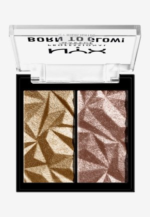 BORN TO GLOW ICY HIGHLIGHTER DUO - Highlighter - 08 bout the bronze