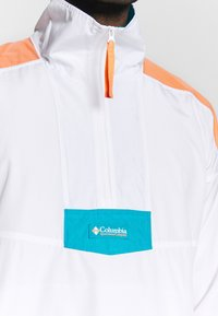 Columbia - SANTA ANA ANORAK - Veste coupe-vent - white/brigt nectar/clear water - 4