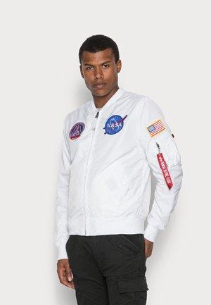 NASA REVERSIBLE II - Bombertakki - weiß