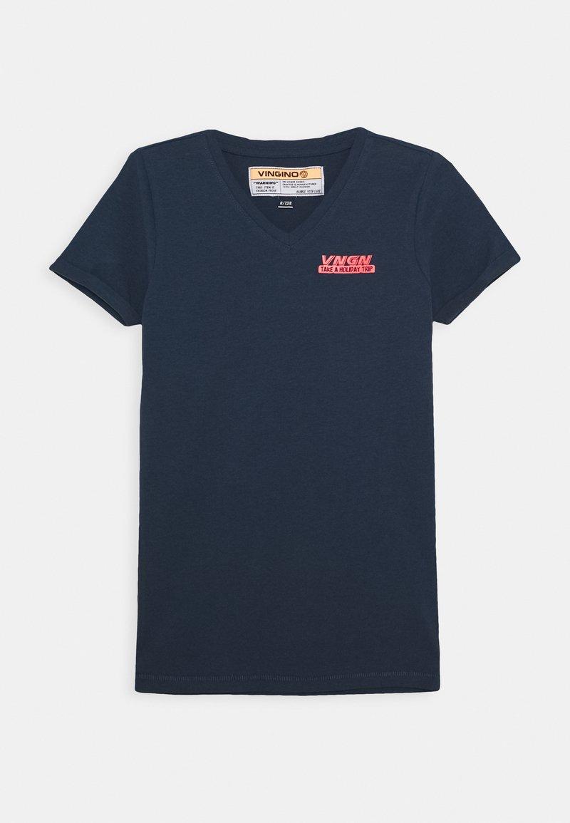 Vingino - HAMA - Print T-shirt - dark blue
