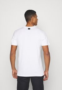 G-Star - 3D NO.1 LOGO+ R T S\S - Print T-shirt - compact white - 2
