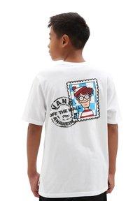 Vans - Print T-shirt - white - 1
