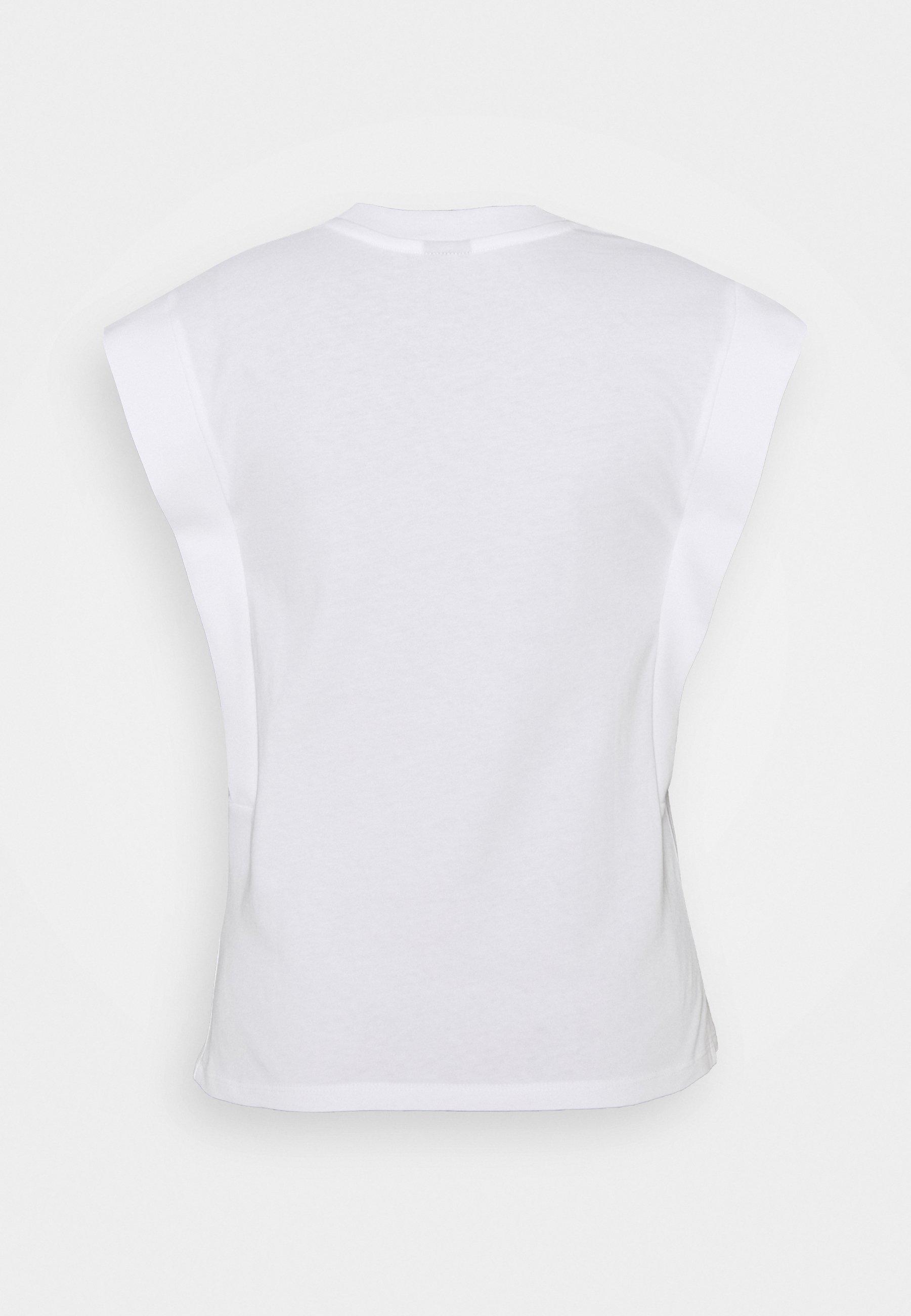 Gina Tricot Charlie Tank - T-shirts White/hvit