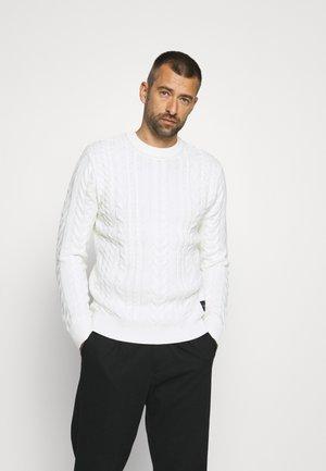 SEASONAL CREWNECK - Džemper - off white