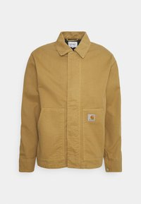 ARCAN JACKET - Denim jacket - dusty brown