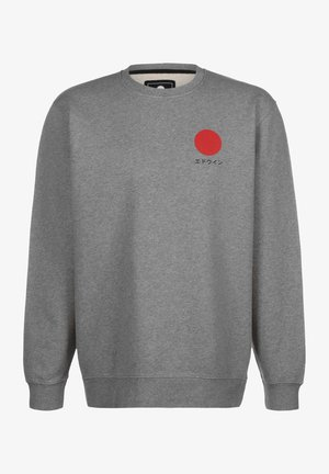 SUN - Sweatshirt - mid grey marl garment washed