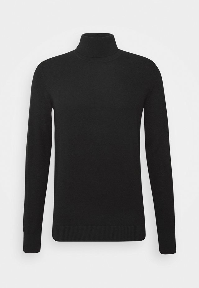 SATURN - Sweter - black