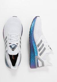 adidas Performance - ULTRABOOST 20 PRIMEKNIT RUNNING SHOES - Zapatillas de running neutras - dash grey/grey three/blue vision metallic - 1