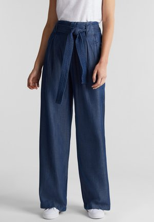 Flared jeans - blue dark washed
