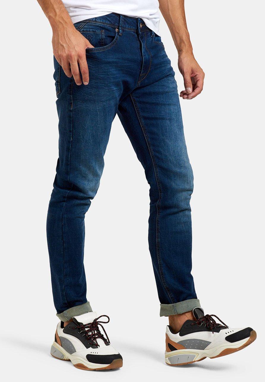 Uomo LUCAS SLIM GYM DARK DENIM L34 - Jeans slim fit