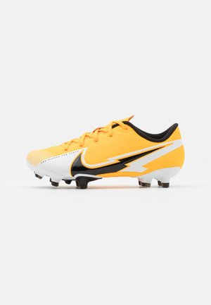 MERCURIAL JR VAPOR 13 ACADEMY FG/MG UNISEX - Moulded stud football boots - laser orange/black/white