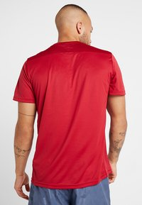 adidas Performance - OWN THE RUN TEE - Print T-shirt - red - 2