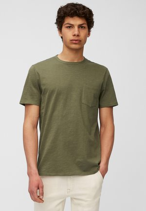Basic T-shirt - fresh olive