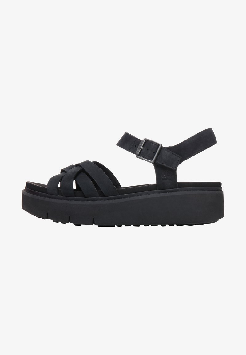 Timberland - SAFARI DAWN - Platform sandals - jet black