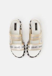 Liu Jo Jeans - Sandály na platformě - light gold - 8