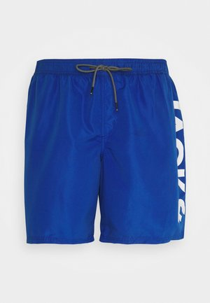 JJIBALI JJSWIMSHORTS LOGO - Swimming shorts - surf the web