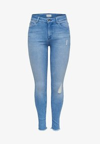 ONLY - Jeans Skinny Fit - light blue denim - 5