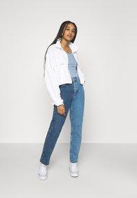 Ragwear - CHEVRON - Print T-shirt - blue - 1