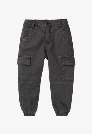 COMBAT - Cargo trousers - dark grey
