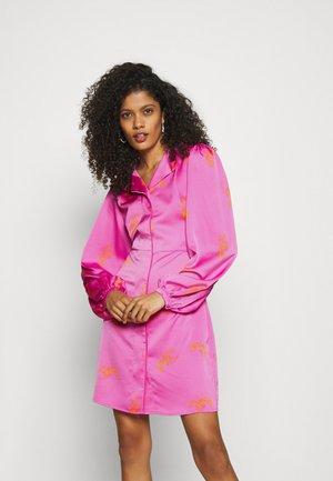 LAVACRAS DRESS - Shirt dress - pink