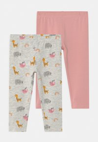 OVS - 2 PACK - Leggings - Trousers - peachskin - 0
