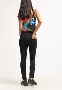 ONLY - Slim fit jeans - black denim - 2