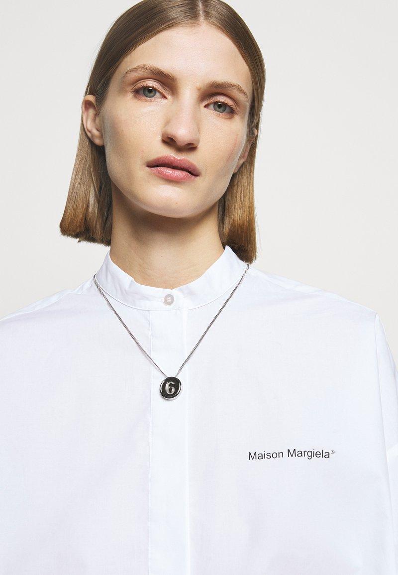 MM6 Maison Margiela - Necklace - silver-coloured
