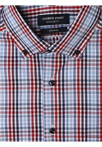 Andrew James - Shirt - rot hellblau - 2