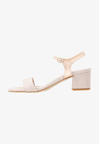 LEATHER - Sandals - off white