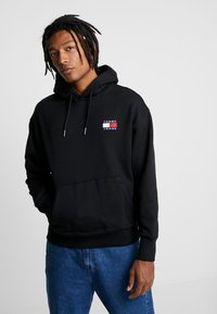 Tommy Jeans - BADGE HOODIE - Sweat à capuche - black - 0