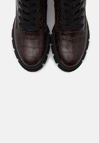 Kennel + Schmenger - VIDA - Platform ankle boots - braun - 5