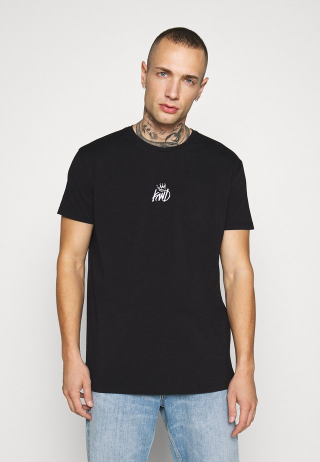 GRINN TEE - T-shirt imprimé - black