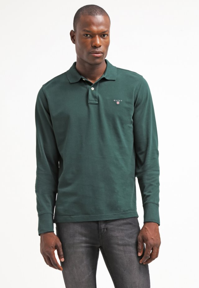 THE ORIGINAL RUGGER - Polo - tartan green