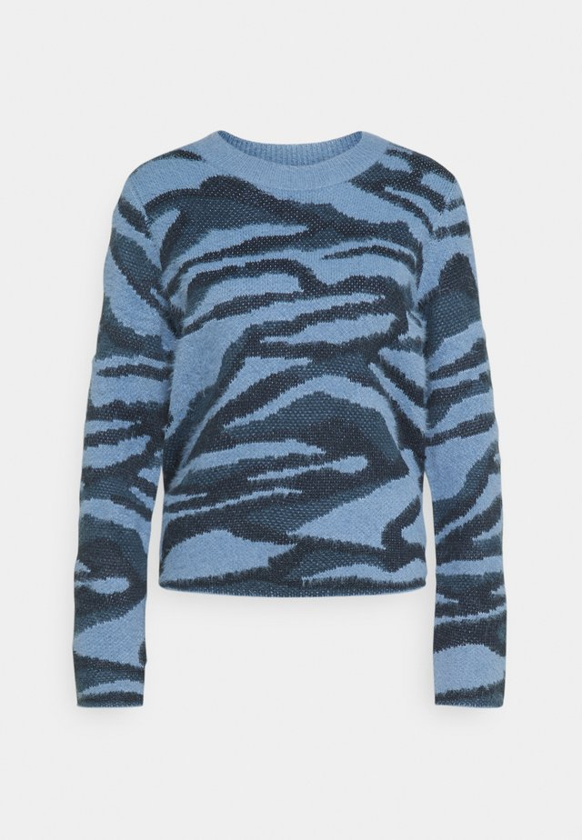 BYNOLLE JUMPER - Pullover - country blue mix