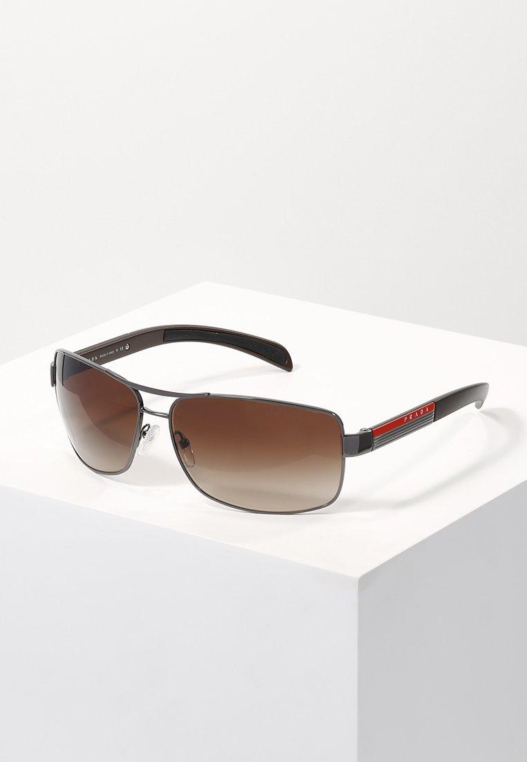Prada Linea Rossa - LIFESTYLE - Sunglasses - gunmetal/brown