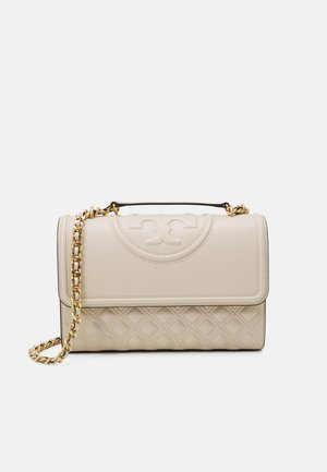 FLEMING CONVERTIBLE SHOULDER BAG - Taška s příčným popruhem - new cream