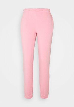 BASIC - Pantalones deportivos - sea pink