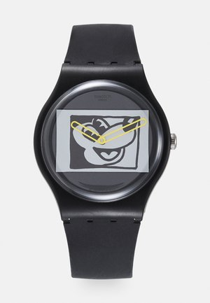 MICKEY BLANC SUR NOIR - Watch - black