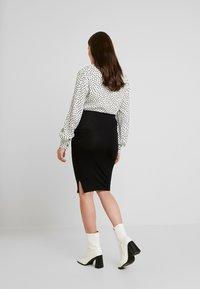 Envie de Fraise - CINDY - Pouzdrová sukně - black - 2