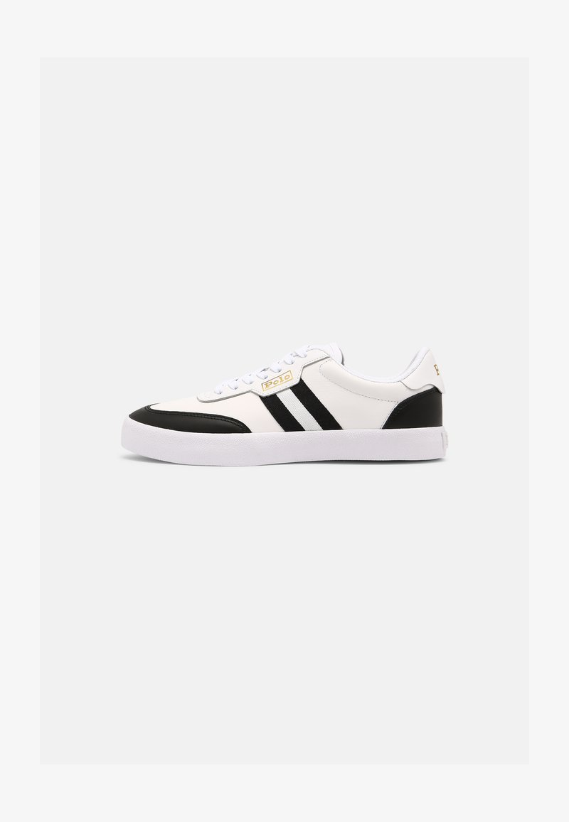 Polo Ralph Lauren - COURT - Sneakers laag - white/black