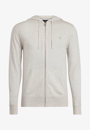 MODE - Zip-up hoodie - white